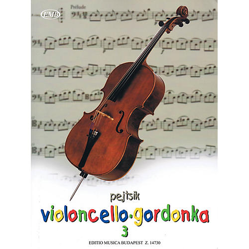 Editio Musica Budapest Árpád Pejtsik - Violoncello Method - Volume 3 EMB Series Softcover Composed by Árpád Pejtsik-thumbnail