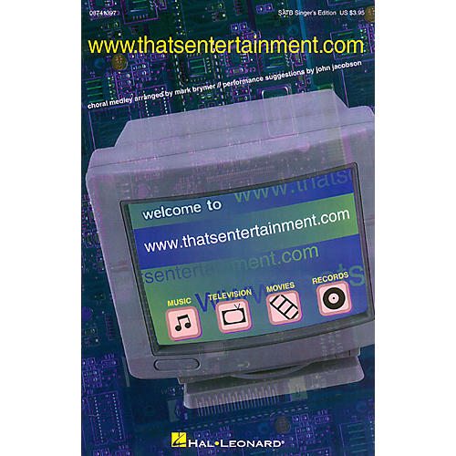 Hal Leonard www.thatsentertainment.com (Medley) ShowTrax CD Arranged by Mark Brymer