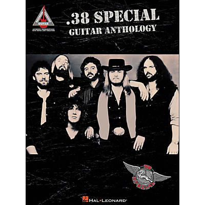 Hal Leonard .38 Special Guitar Anthology Tab Songbook