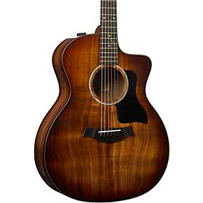224ce-K DLX Grand Auditorium Acoustic-Electric Guitar Shaded Edge Burst