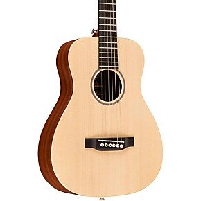 X Series LX1 Little Martin Left-Handed Acoustic Guitar Natural