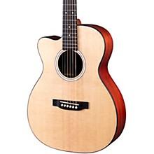 Martin 000 Jr-10E Left-Handed Auditorium Cutaway Acoustic-Electric Guitar