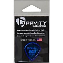 GRAVITY PICKS 003 J3 Big Mini Polished Blue Guitar Picks
