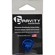 GRAVITY PICKS 003 J3 Mini Polished Blue Guitar Picks