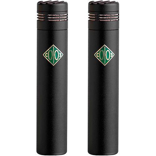 Soyuz Microphones 013 FET-M-B Matched Pair Small Diaphragm FET Microphones Black Finish (cardioid capsule, 10dB pad)