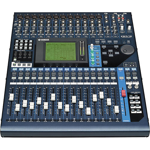 Yamaha 01v96 digital mixer musician 39 s friend for Yamaha power amp mixer