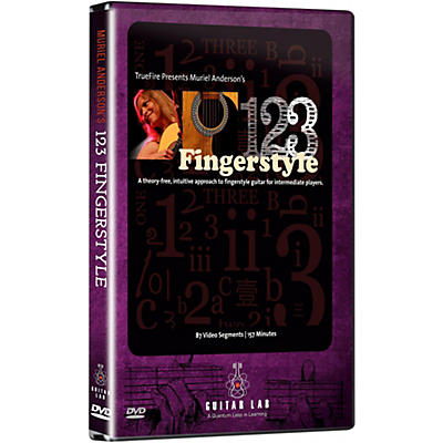 eMedia 1-2-3 Fingerstyle Guitar DVD