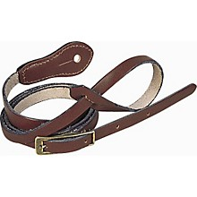 Levy's 1/2 In Deluxe Boot Leather Mandolin Strap