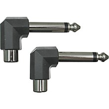 "Livewire 1/4""-1/4"" Right Angle-RCA Adapter"