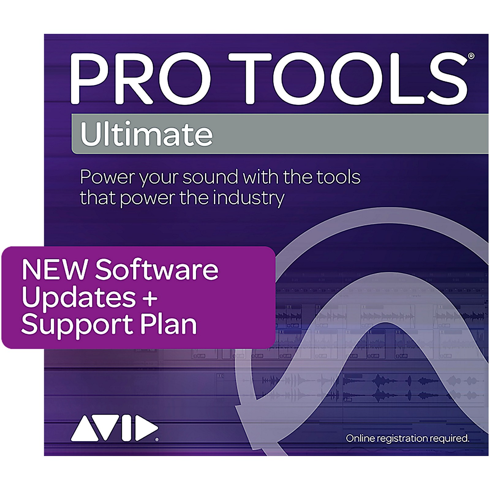 Avid 1-Year Software Updates/Support Pro Tools   Ultimate (Boxed)