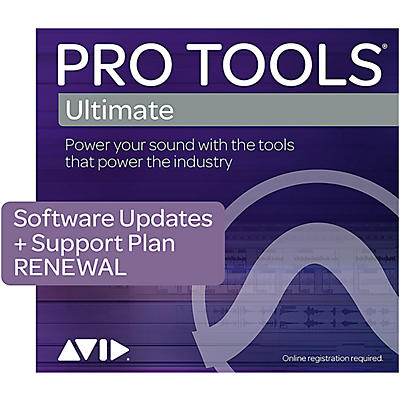Avid 1-Year Software Updates/Support Renewal Pro Tools | Ultimate (Boxed)