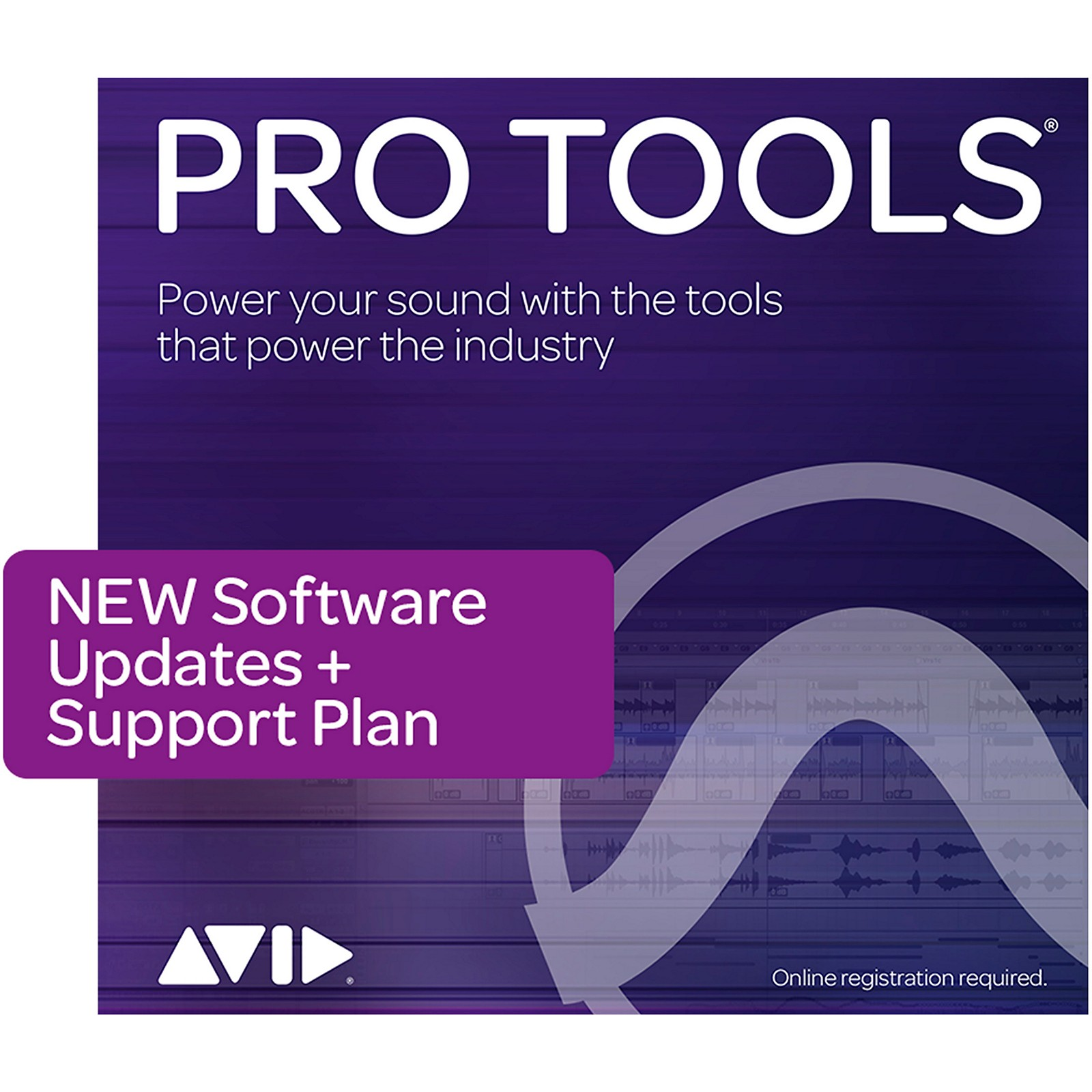 Avid 1-Year Update/Support Pro Tools Perpetual (Boxed)
