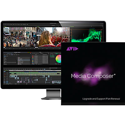 Avid 1-Year Update/Support Renewal Media Composer Perpetual (Download)