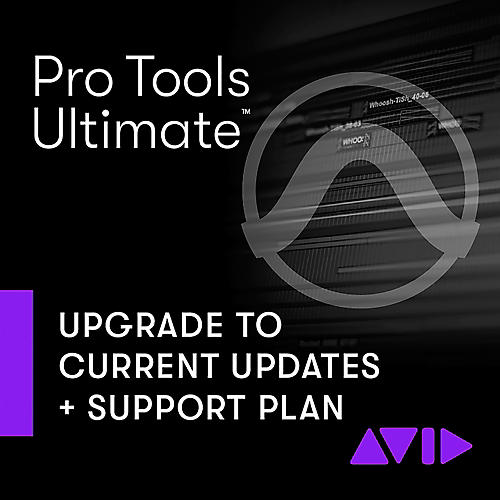 Avid 1-Year Updates + Support for Pro Tools   Ultimate Perpetual License Expired Plan (Download)