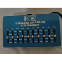 Ross 10 Band Graphic Equalizer Pedal