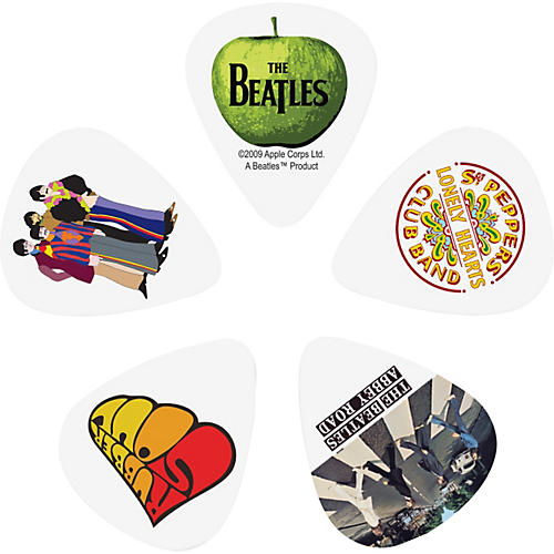 D'Addario Planet Waves 10 Beatles Picks - Album Artwork
