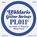 D'Addario 10-Pack Plain Steel Single Gauge Acoustic or Electric Guitar String thumbnail