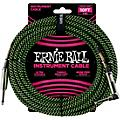 Ernie Ball 10' Straight to Angle Braided Instrument Cable thumbnail
