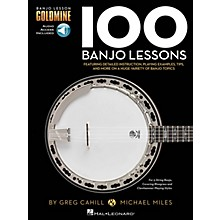 Hal Leonard 100 Banjo Lessons - Banjo Lesson Goldmine Book/Audio Online