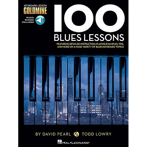 Hal Leonard 100 Blues Lessons - Keyboard Lesson Goldmine Series Series Book/2-CD Pack