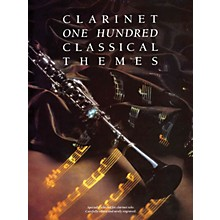 Music Sales 100 Classical Themes for Clarinet Music Sales America Series
