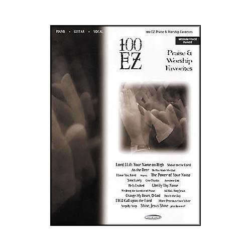 Word Music 100 EZ Praise and Worship Favorites Book
