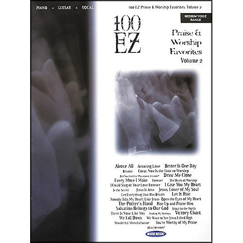 Word Music 100 EZ Praise and Worship Favorites Volume 2 Piano/Vocal/Guitar Songbook