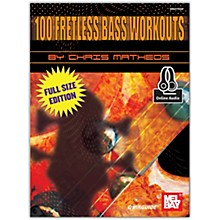 Mel Bay 100 Fretless Bass Workouts Book and CD