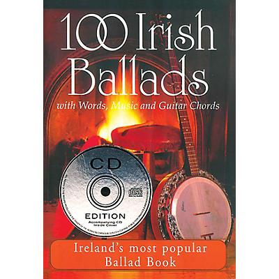 Waltons 100 Irish Ballads - Volume 1 Waltons Irish Music Books Series Softcover with CD