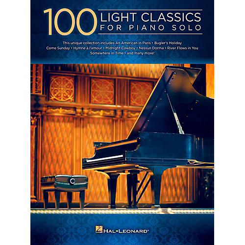 Hal Leonard 100 Light Classics For Piano Solo