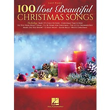 Hal Leonard 100 Most Beautiful Christmas Songs for Easy Piano