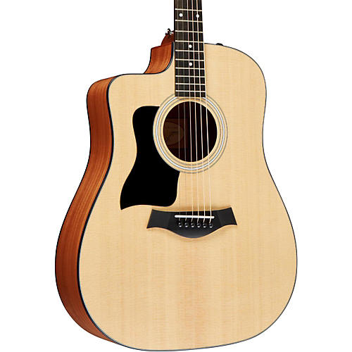 Taylor 100 Series 110ce Left-Handed Dreadnought Acoustic-Electric Guitar