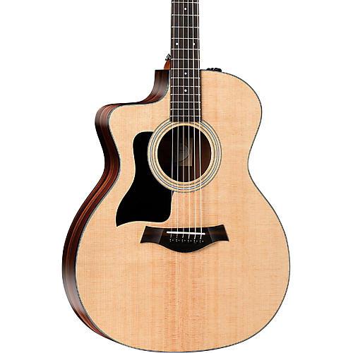 taylor 100 series 114ce rosewood grand auditorium left handed acoustic electric guitar. Black Bedroom Furniture Sets. Home Design Ideas