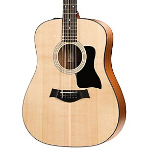 taylor 100 series 150e dreadnought 12 string acoustic electric guitar musician 39 s friend. Black Bedroom Furniture Sets. Home Design Ideas