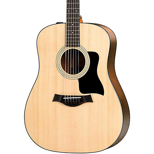 Taylor 100 Series 2017 110e Dreadnought Acoustic-Electric Guitar Natural