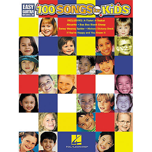 Hal Leonard 100 Songs for Kids Guitar Songbook