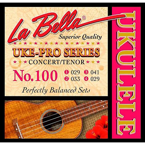 LaBella 100 Uke-Pro Concert/Tenor Ukulele Strings