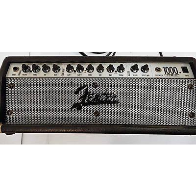 Fender 1000 ROCK PRO Solid State Guitar Amp Head