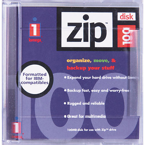 Iomega 100MB Zip Cartridge