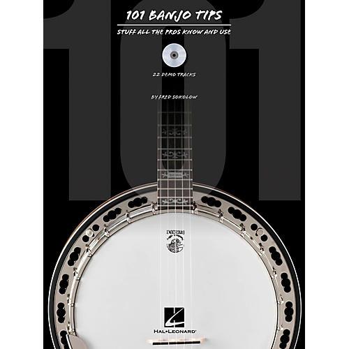 Hal Leonard 101 Banjo Tips Book/CD