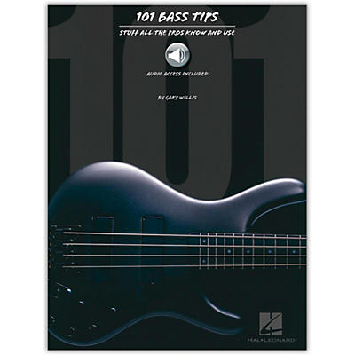 Hal Leonard 101 Bass Tips of the Pros (Book/Online Audio)