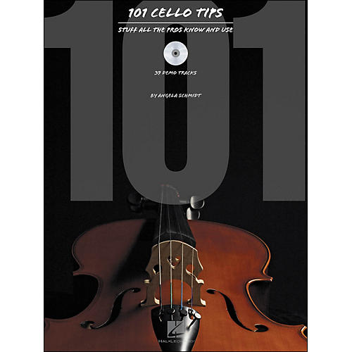 Hal Leonard 101 Cello Tips - Stuff All The Pros Know And Use Book/CD