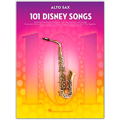 Hal Leonard 101 Disney Songs  for Alto Sax