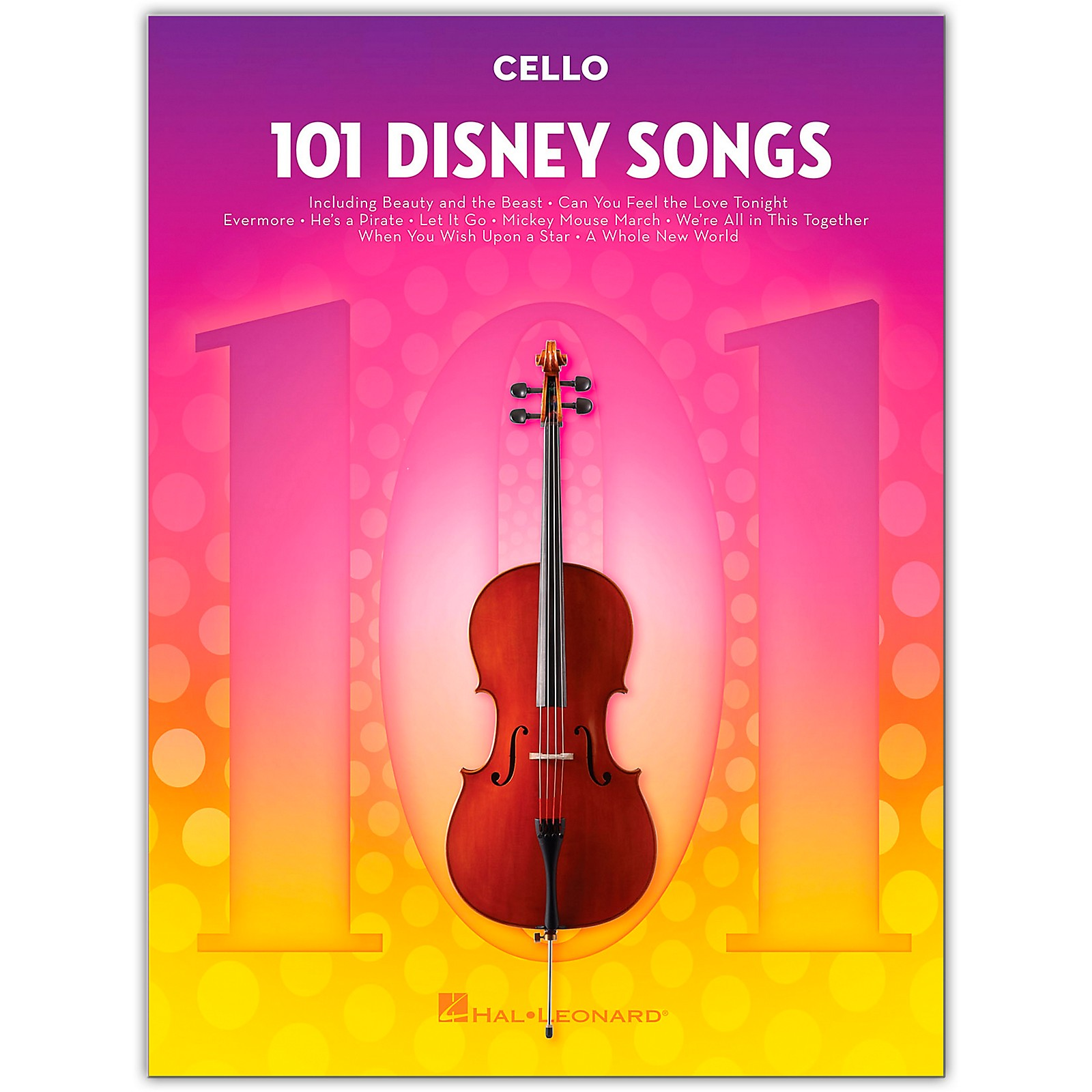 Hal Leonard 101 Disney Songs  for Cello