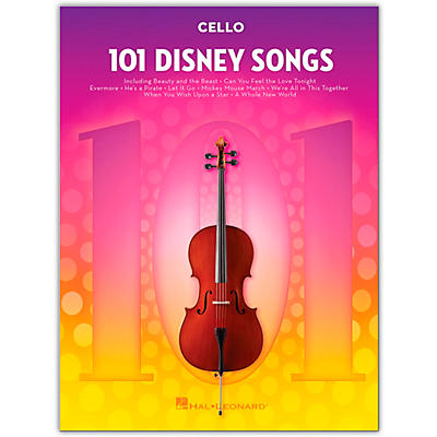 Hal Leonard 101 Disney Songs  for Cello