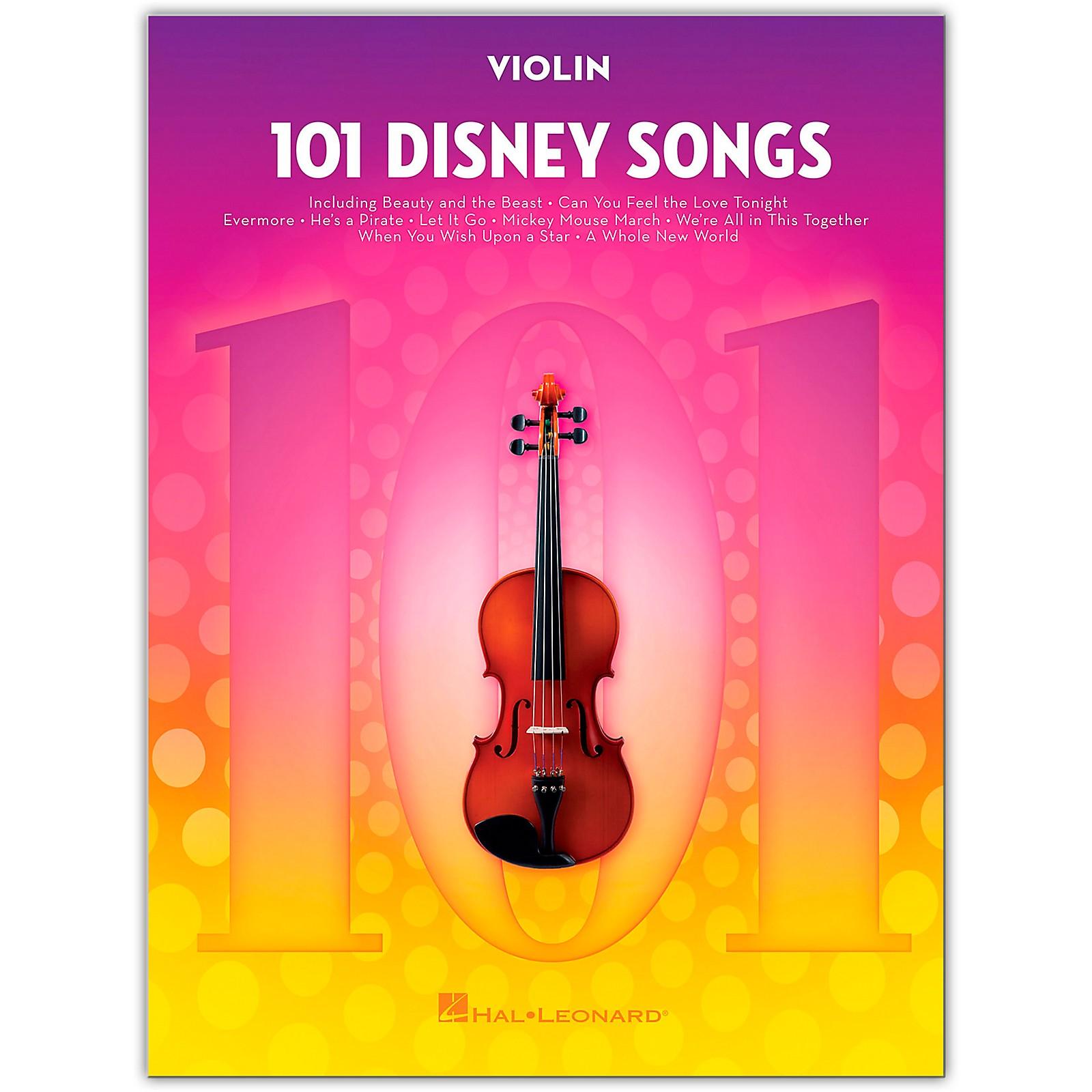 Hal Leonard 101 Disney Songs  for Violin