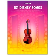 Hal Leonard 101 Disney Songs  for Violin