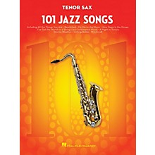 Hal Leonard 101 Jazz Songs for Tenor Sax Instrumental Folio Series Book