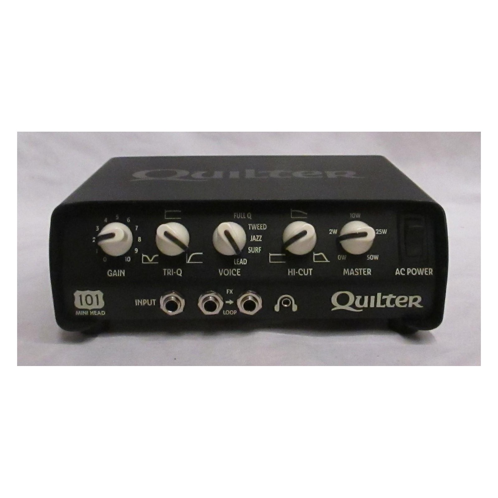 Quilter Labs 101 Mini Head 50w Solid State Guitar Amp Head