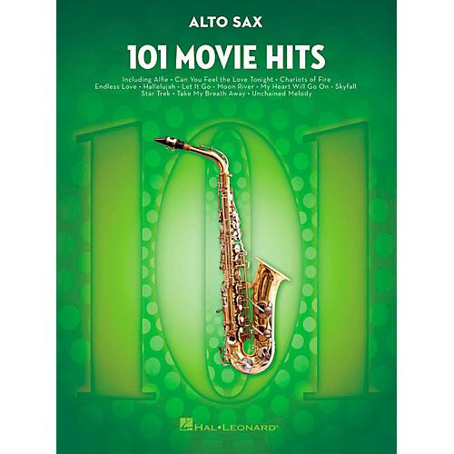 Hal Leonard 101 Movie Hits - Alto Sax